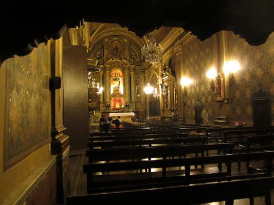 Die Kirche vom Kloster Santa Teresa stammt von 1717, die anderen Teile wurden später hinzugefügt.