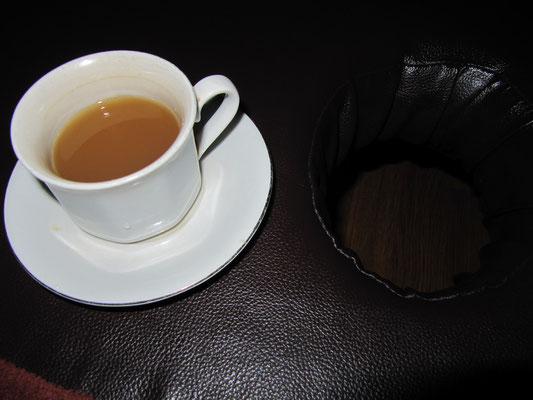 Warte-Chai vor unserer Massage.