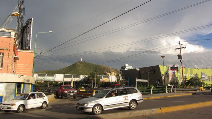 Der Norden Cochabambas ist wohlhabender und besitzt zudem das einzige Shopping-Mall.