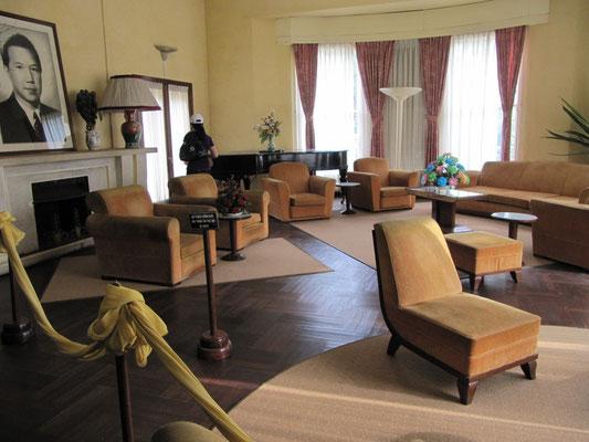 Wohnzimmer. (Bao Dais Sommerpalast)