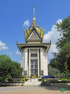 Gedächtnis-Stupa in Choeung Ek.