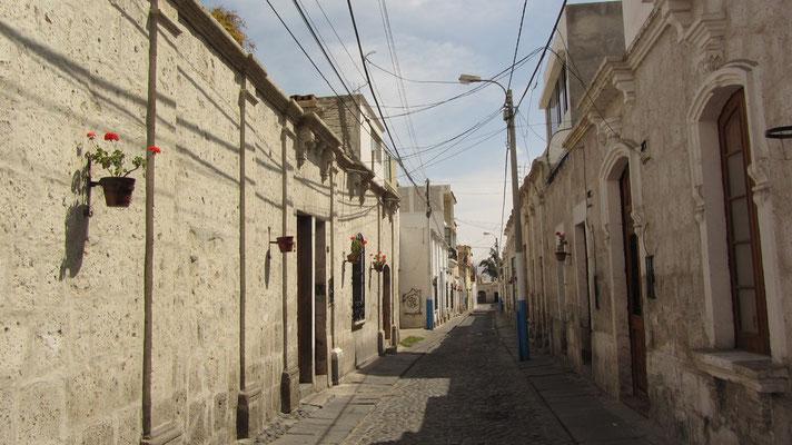 In den Straßen von Arequipa.