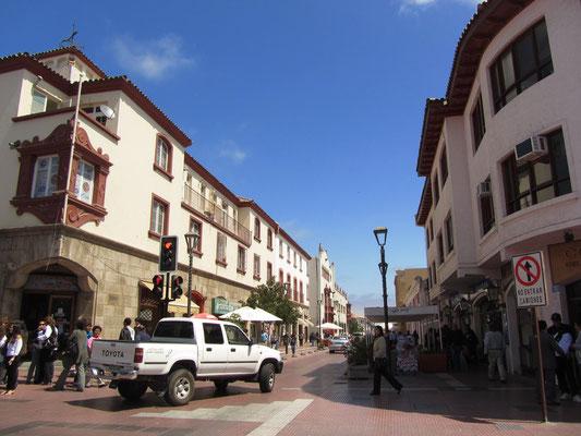 In den Straßen der Altstadt.