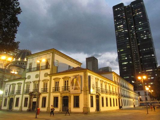 Der Paço Imperial, der ehemalige Königspalast, dient heute als Museum.