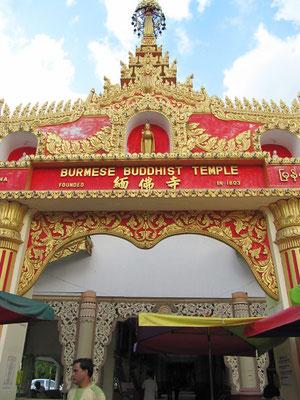 Dhammikarama Burmese Buddhist Temple.