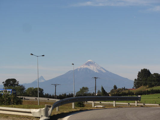 Der Vulkan Osorno.