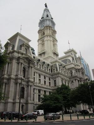 Phillies Rathaus, ein Tempel der Macht, ein Schloss der Verwaltung.