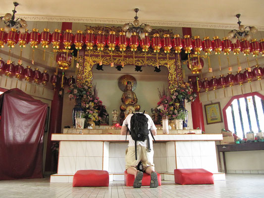 Im Tua Pek Kong Tempel.