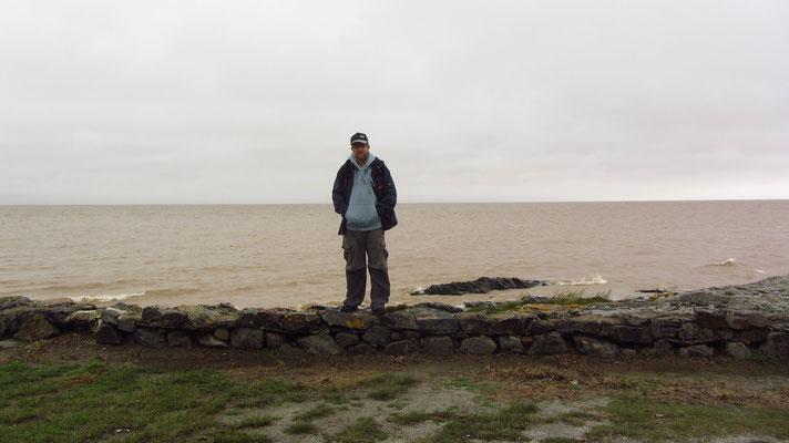 Blick auf den Rio de la Plata.