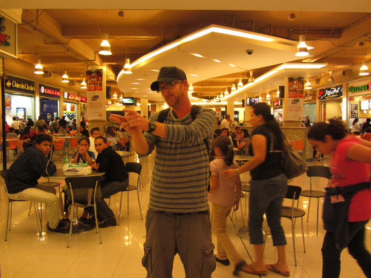 Der Foodcourt im Multiplaza Mall.