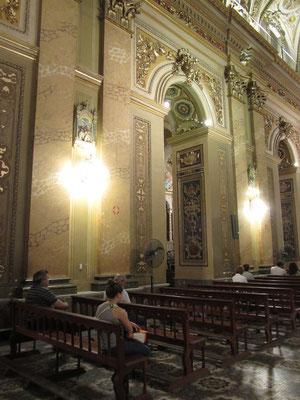 Im Inneren der Kathedrale.