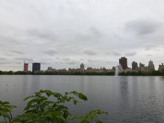 Der Hudson River.