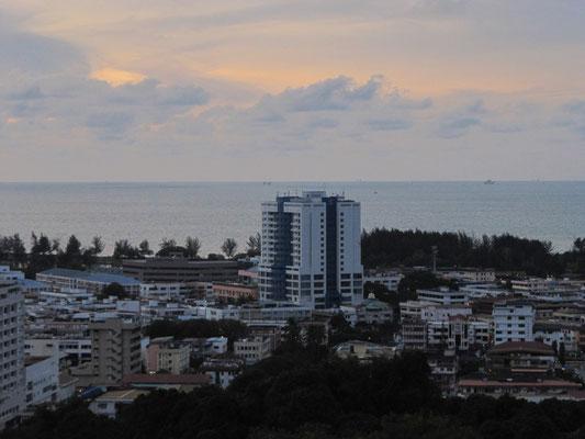Blick auf die Stadt.