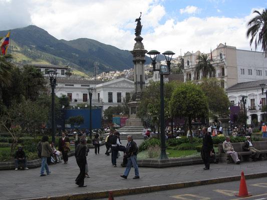 Das Zentrum, der Plaza Grande oder auch Plaza de la Independencia.