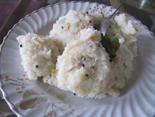 Was für ein gesundes Frühstück! Reisbrei mit Ingwer & anderen Hässlichkeiten.