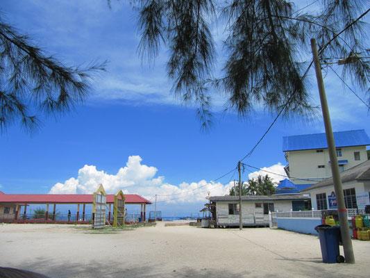 Das Fischerdorf im Süden der Insel.