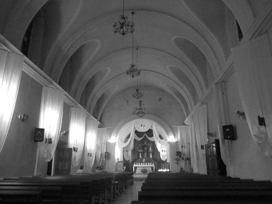 In der Kirche.