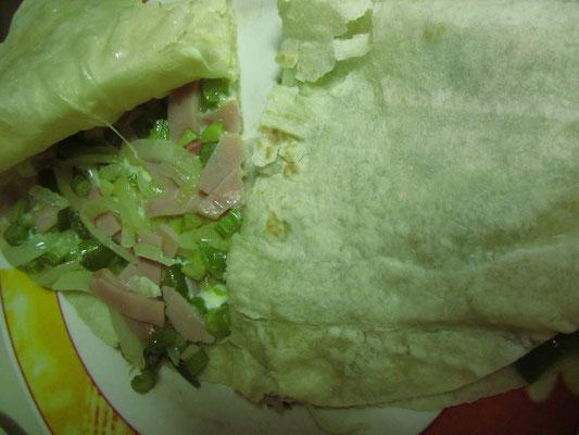Tortillas selbstgefüllt.