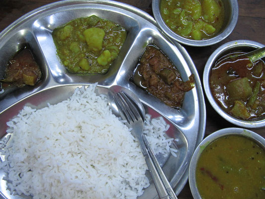 Supersize Thali.