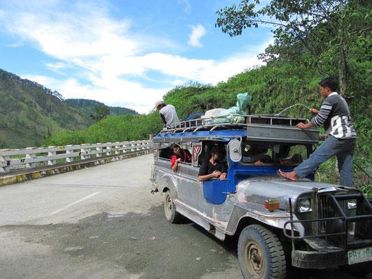 Unser Jeepney.