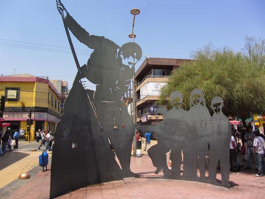 Skulptur. (Paseo Prat)