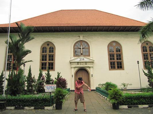 Die Sion-Kirche in Kota.