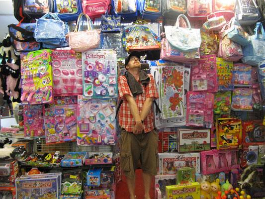 Im Shopping-Mall in Gadong.