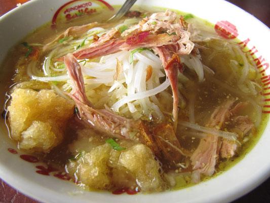 Eine Suppe, dass einem das Wasser im Mund zusammenläuft.