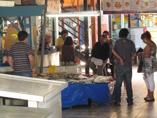Fischmarkt in Coquimbo.