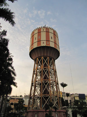 Tirtanadi Wasserturm. Ein Wahrzeichen Medans.