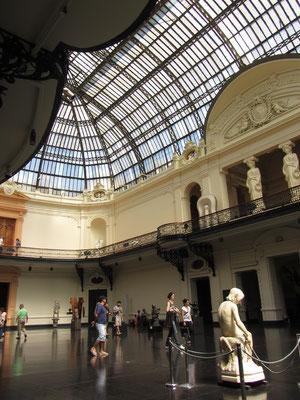 Im Palacio de Bellas Artes. Ein sehr interessantes Museum.