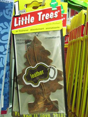 """Ein Durftbaum mit der Geruchsnote """"Leder""""."""