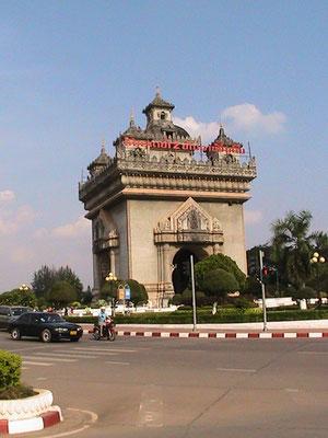 Patou Xai (andere Schreibweise: Patu Say; auch Monument des Morts; Lao: ປະຕູໄຊ) ist ein Triumphbogen in der laotischen Hauptstadt Vientiane. Der 49 Meter hohe Monumentalbau steht am Ende der Xang-Prachtstraße.