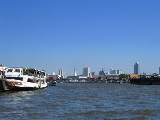Der Chao Phraya Fluss.