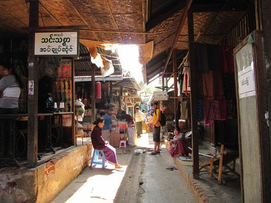 Der Markt. (Nyaung-U)
