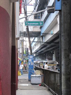 Downtown in unserer Nachbarschaft.