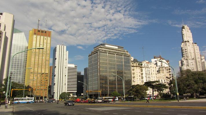 Vor allem im Stadtteil Retiro wurden viele neue Hochhäuser gebaut.