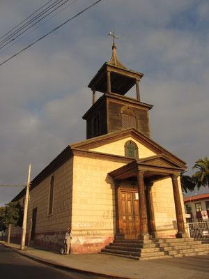 Das kleine La Serena hat 29 Kirchen.