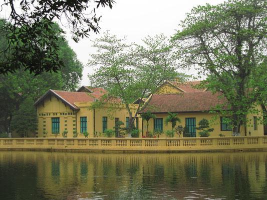In diesem Haus lebte Ho Chi Minh von 1954-58.