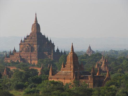Göttlich. Der Blick von der Pya-Pha-Da-Pagode.
