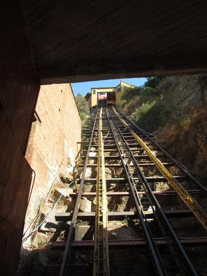 Ku-rz und steil ist der ascensor