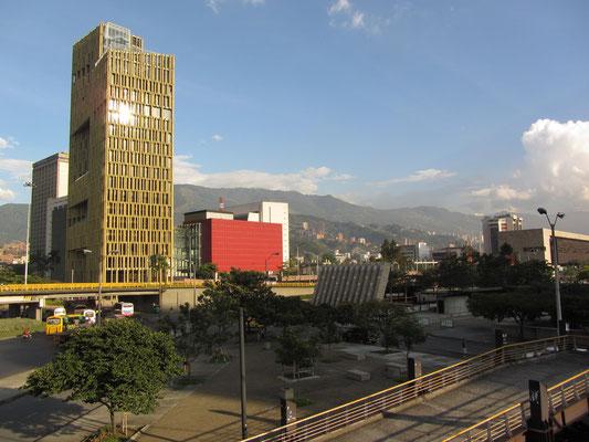 Teil des Geschäfts- und Verwaltungsviertels.