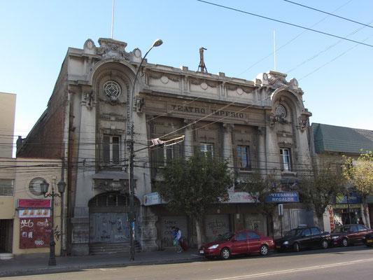 Das alte Teatro Imerio.