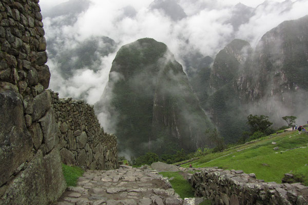 Ein magischer Ort. Das hatten sich die Inkas sicher auch gedacht.