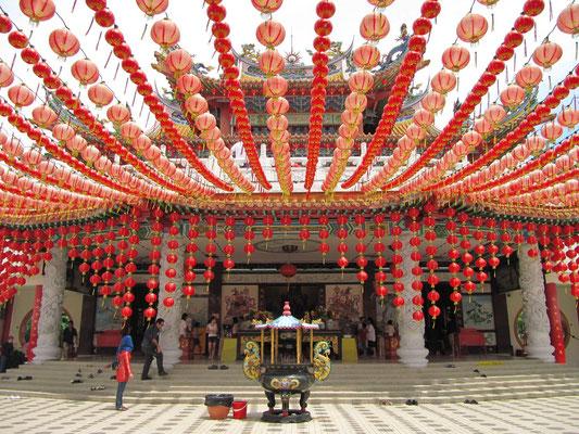 Der Thean Hou Tempel.