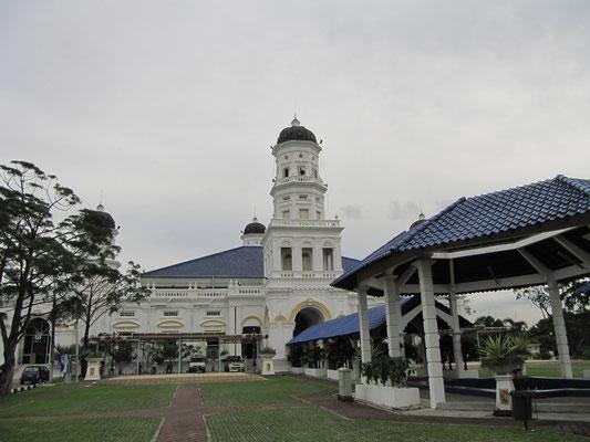 Die Sultan-Abu-Bakar-Moschee.