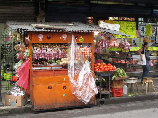 Gemüsegroßhandel.