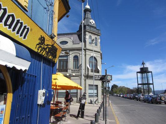 Die Hafenstraße in Valdivia.
