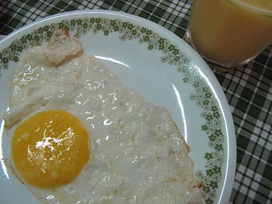 Nelsons Frühstück.