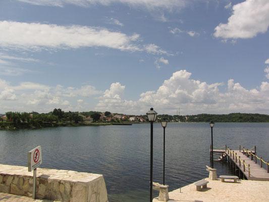 Der Peten-Itza-See.